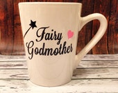 SALE -Fairy Godmother Mug, Godmother