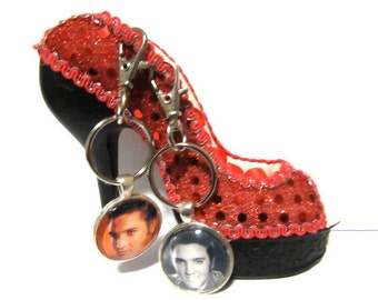 Two Elvis Key Chains