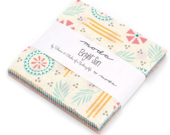 Bright Sun Moda Charm Pack quilt fabric