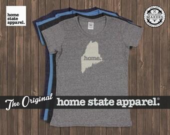 Maine Home. T-shirt- Womens Cut