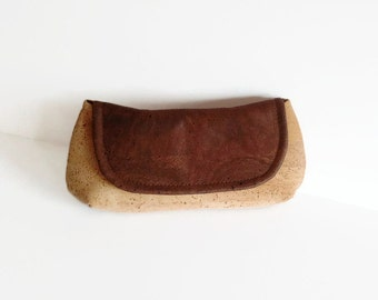 Cork Clutch Bag / Vegan Purse / Eco Friendly Gift / Evening Bag