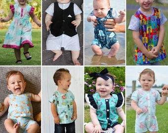 ZOO Collection for BABY 0000-4 Romper Shirt Tee Dress Singlet Swimmers Togs Bathers Playsuit All ...