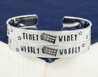 Wibbly Wobbly Timey Wimey Bracelet Set