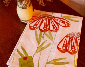 Dish Towel, Hand Printed by Molly Thompson
