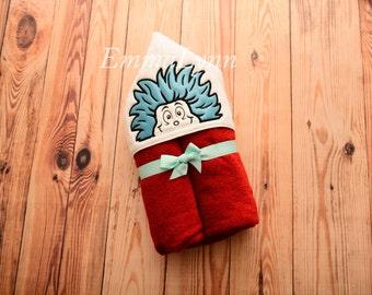 Wild thing kids hooded towel, kids hooded personalized towel gift, kids hooded beach towel, kids hooded bath towel, hooded beach towel gift