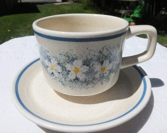 """Lenox Temper-Ware """"Dewdrops"""" Cups and Saucers"""