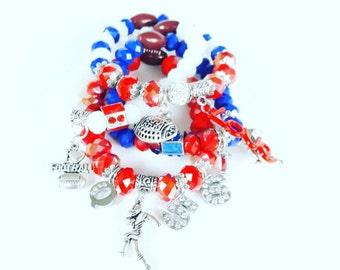 Team spirit bracelet set