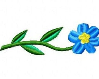 Embroidery pattern - Flower - in 3 sizes
