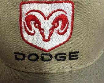 Custom Embroidered Dodge Ram Hat