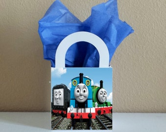 12 Thomas the Train Favor Boxes Centerpieces Birthday Party Favor