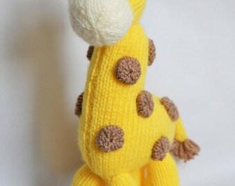 KNITTING PATTERN - Giraffe Knitting Pattern