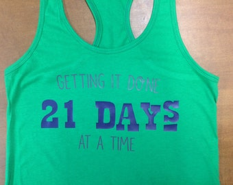 Getting it Done, 21 Days at a Time; Beachbody 21 Day Fix Fitness Tank Top