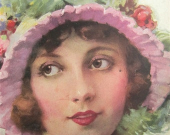 Original May 1923 Lois Wilson Photoplay Magazine Cover By J. Knowles Hare - Hollywood's Golden Age