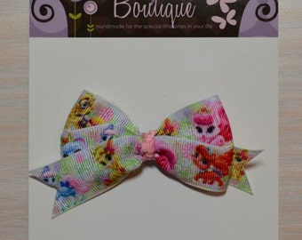 Boutique Style Hair Bow - Palace Pets, Disney, Whisker Haven