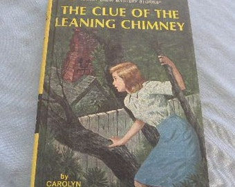 Nancy Drew Book The Leaning Chimney #26 - 1967