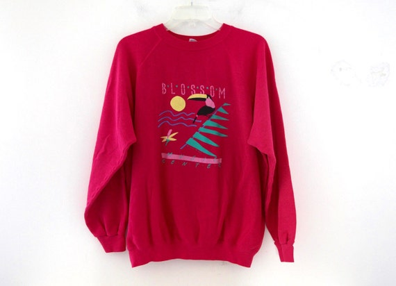 vintage 80s sweatshirt blossom center ohio cleveland