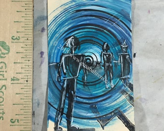 Original, Artwork, Mixed Media, All New Mini  Painting