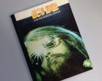"""Recycled Record Album Cover Notebook / Journal / """"Leon Russell"""""""