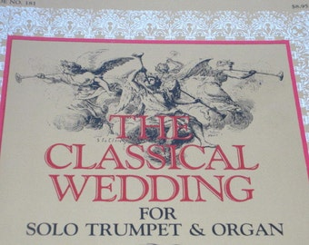 Wedding Music 1980s Book The Classical For Solo Trumpet And Organ