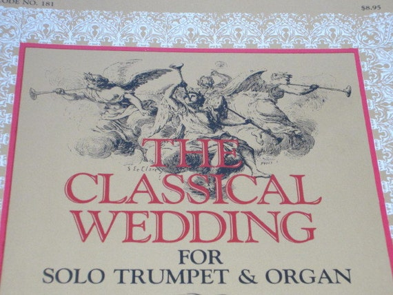 Wedding Music 1980s Music Book The Classical Wedding For