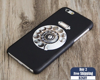 Black Retro Rotary Phone  iPhone 6 Case,iPhone 6 Plus Case,iPhone 5s Case,iPhone 5C Case,4s Case,Samsung Galaxy S5/S4/S3/Note 3/Note 2 Case