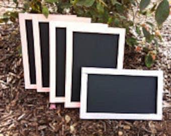 Chalkboard Set, Wedding Decor, Chalk Board, Chalkboard Signs, Wedding Chalkboard Signs, Birthday Chalkboard, Blackboard, Small Chalkboards