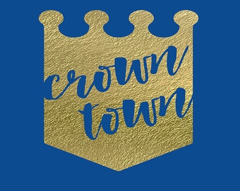 Kansas City Royals Art Print - Crown Town
