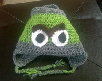 Oscar the Grouch Inspired Hat