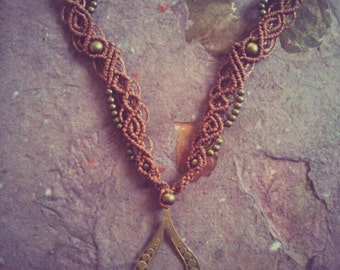 Earthy Gipsy bohemian tribal Lovely magic Necklace