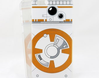 BB-8 inspired case for iPhone 6/6s and 6/6s Plus - Star Wars - This IS the droid you are looking for! - minimalist low profile printed case