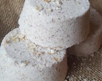Brown Sugar Vanilla Oat Bath Bomb