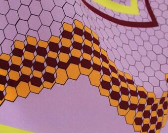 Deepcomb Digitally Printed Silk Scarf