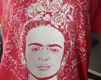 St. Frida the Fierce-Frida Kahlo Artist Saint T-Shirt