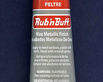 Patina 76333V ~ Amaco Rub 'N Buff Uncarded Wax Metallic Finish Crafts etc