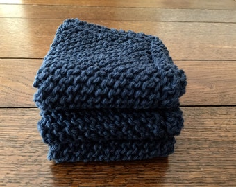 Gift for him, gymbag rag, gym cloth, spa set, stocking stuffer, knitted washcloth, facial care, wash cloth, gym cloth, dish rag, gym bag