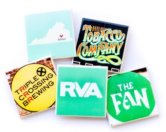 Richmond Photo Coasters