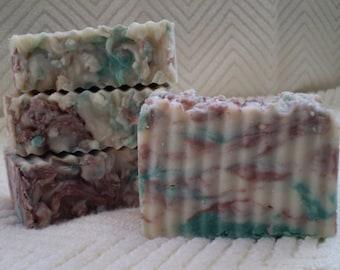 Neroli - Rustic Suds Natural - Organic Goat Milk Triple Butter Soap Bar - 5-6oz. Each