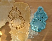Little My cookie cutter, Lilla My The Moomins cookie stamp