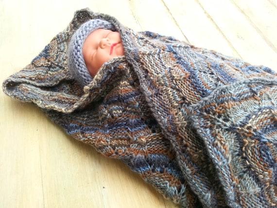 Knitting Pattern Baby Afghan Pattern Baby Blanket Pattern