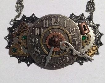 Steampunk Lock and Key
