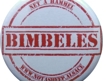 "Badge 32mm ""Bimbeles"""