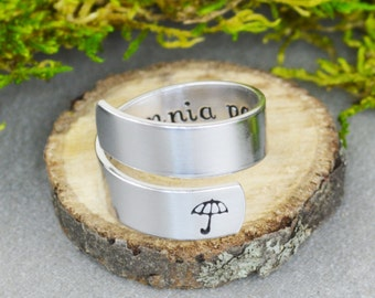 In Omnia Paratus Wrap Ring