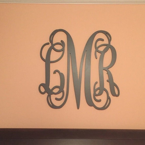 monogram wooden letters painted wooden monogram letters custom painted nursery 23687