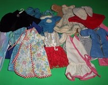 Barbie Size Vintage Factory and Mommy Made Clothing Lot 2