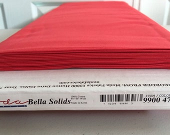 Moda Bella Solid Scarlett 9900/47 - fabric