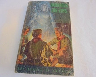1948 BOY SCOUTS  Of America Handbook For Boys