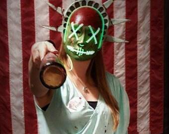 Purge Lady Liberty Mask