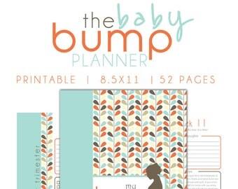 Pregnancy Planner, Maternity Pringable, Pregnancy Journal, Baby Shower, Pregnancy baby planner, Maternity organizer checklist, pdf printable