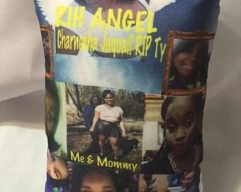 Mini custom pillows