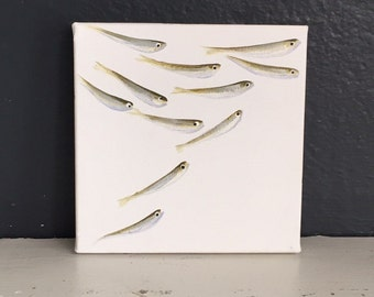 Minnow Painting